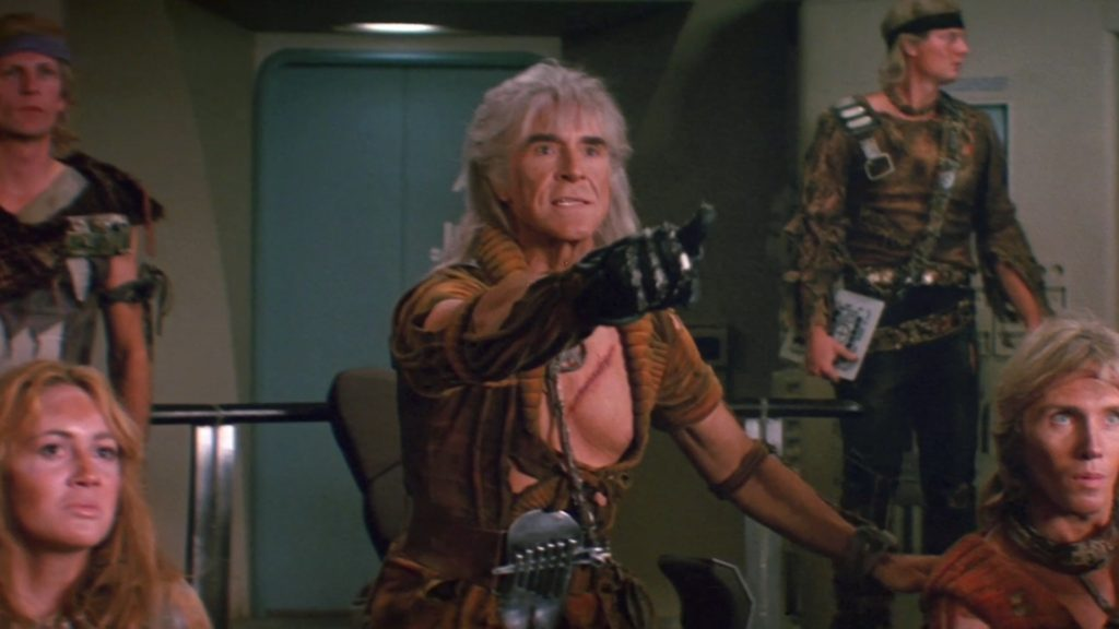 When writing the villain in my own novels, I had the voice of Ricardo Montalban in my head.